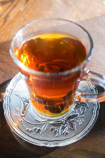 Mint tea, cafe, Amman, Jordan by Danita Delimont