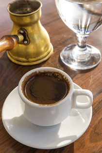Turkish coffee, Jordan by Danita Delimont