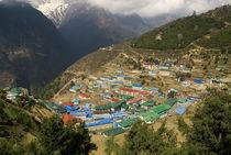 Nepal, Namche Bazaar, Khumbu von Danita Delimont