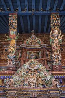 Asia, Nepal, Kathmandu Valley, Patan, multi-armed Hindu godd... von Danita Delimont