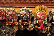 Papier Mache Masks - Nepal von Danita Delimont