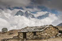 Stone hut, Khumbu Valley, Nepal. by Danita Delimont