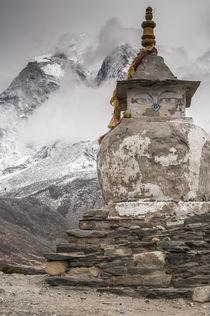 Stupa near Dingbochhe, Nepal. von Danita Delimont