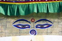 Swayamhunath Buddhist Stupa or Monkey Temple, Kathmandu, Nepal by Danita Delimont