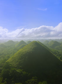 Chocolate Hills of Bohol Island, Philippines by Danita Delimont