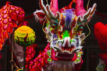 Dragon dance celebrating Chinese New Year in China Town, Man... by Danita Delimont