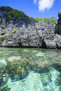 Clear water in the Bacuit Archipelago, Palawan, Philippines von Danita Delimont