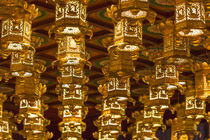 Singapore, Chinatown, Buddha Tooth Relic Temple, lanterns by Danita Delimont