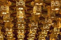 Singapore, Chinatown, Buddha Tooth Relic Temple, lanterns von Danita Delimont