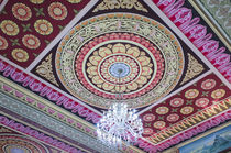Singapore, East Singapore, Mangala Vihara Buddhist Temple, ceiling by Danita Delimont