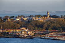Topkapi Palace as seen from Galata Tower, Istanbul, Turkey by Danita Delimont