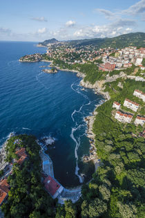 Zonguldak, aerial, Black Sea coast of Turkey by Danita Delimont