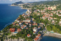 Zonguldak, aerial, Black Sea coast of Turkey von Danita Delimont