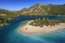Oludeniz, aerial, Fethiye, Turkey by Danita Delimont