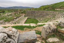 Amphitheater in Aphrodisias, Aydin, Turkey by Danita Delimont