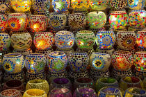Items for sale in Spice Market, Istanbul, Turkey von Danita Delimont