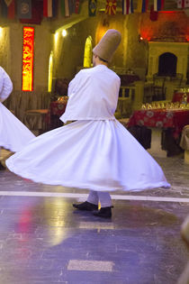 Whirling Dervish performance Cappadocia Central Turkey by Danita Delimont