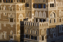 Buildings in San'a, Yemen by Danita Delimont