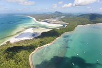Hill inlet Whitsunday Islands, Queensland, Australia by Danita Delimont
