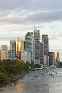Brisbane skyline, Queensland, Australia by Danita Delimont