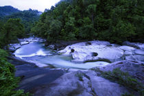 The Babinda Boulders is a fast-flowing river surrounded by s... by Danita Delimont