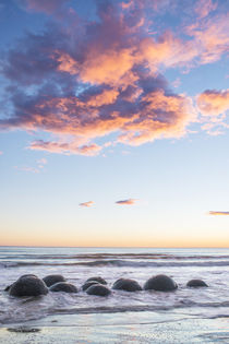 Moeraki Boulders at Dawn by Danita Delimont