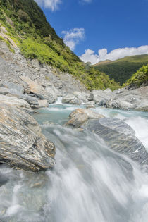 Haast River by Danita Delimont