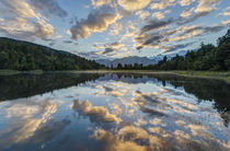 Lake Matheson Dawn by Danita Delimont