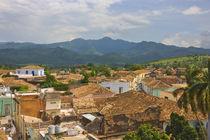 Cityscape, Trinidad, UNESCO World Heritage site, Cuba von Danita Delimont