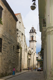 Cathedral of Havana in the historic center, UNESCO World Her... von Danita Delimont
