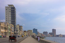 Malecon street along the waterfront, Havana, UNESCO World He... by Danita Delimont