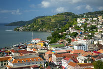 View over Saint Georges, Grenada, West Indies by Danita Delimont