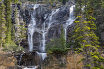 Canada, Alberta, Jasper National Park, Tangle Falls by Danita Delimont