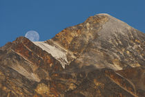 Jasper National Park, Pyramid Peak Setting Moon von Danita Delimont