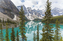 Moraine Lake & The Valley of the Ten Peaks, Banff National Park, by Danita Delimont