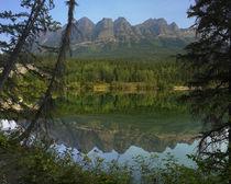 Yellowhead Mountain, Yellowhead Lake, Mount Robson Provincia... von Danita Delimont