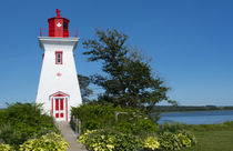 Canada, Prince Edward Island, Victoria, beautiful old Lighth... von Danita Delimont