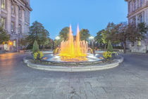 Old Montreal Fountain by Danita Delimont
