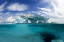 Underwater Iceberg in Repulse Bay, Nunavut, Canada by Danita Delimont