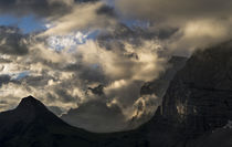 Karwendel Mountain Range between Johannestal and Lamsen Spit... by Danita Delimont