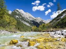 Karwendel valley in the Alpenpark Karwendel by Danita Delimont
