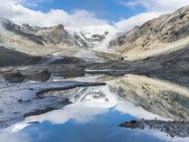 Johannisberg mit dem Gletscher Pasterze von Danita Delimont