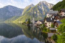 Hallstatt, Salzkammergut, Upper Austria, Austria von Danita Delimont