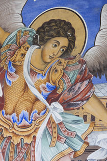 Bulgaria, Southern Mountains, Rila, Rila Monastery, UNESCO-l... von Danita Delimont