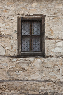 Bulgaria, Central Mountains, Koprivshtitsa, window detail by Danita Delimont