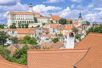Czech Republic, Moravia, Mikulov . by Danita Delimont