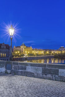 Charles Bridge at Dawn by Danita Delimont