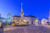 Mikulov Town Square at Dawn by Danita Delimont
