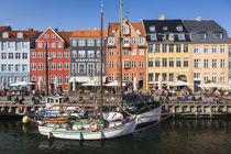 Denmark, Zealand, Copenhagen, Nyhavn harbor by Danita Delimont
