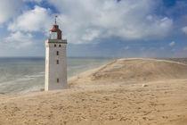 Denmark, Jutland, Lonstrup, Rudbjerg Knude Fyr Lighthouse, s... von Danita Delimont